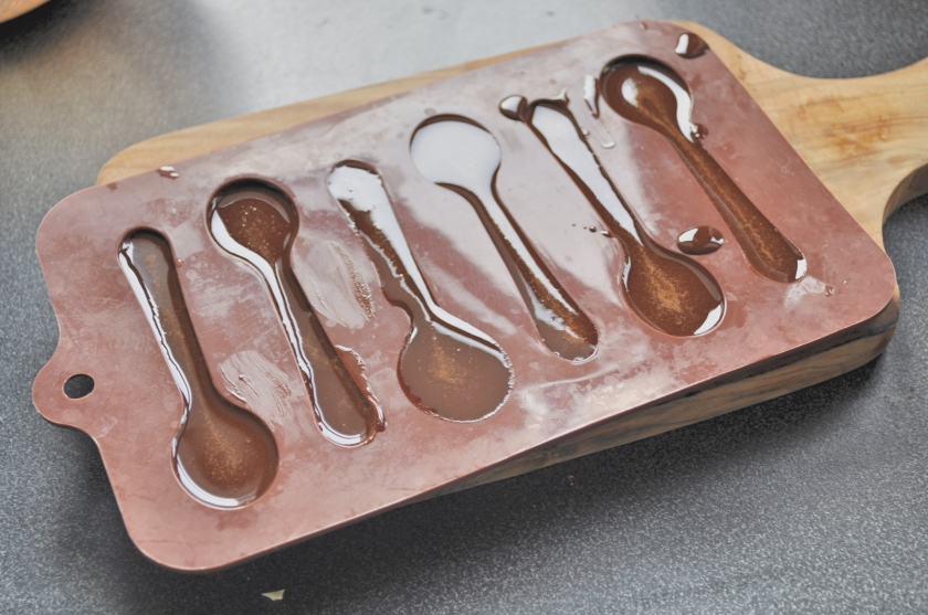 melted spoons