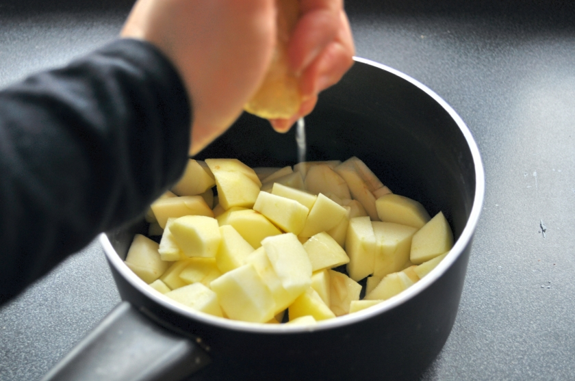 squeeze of lemon