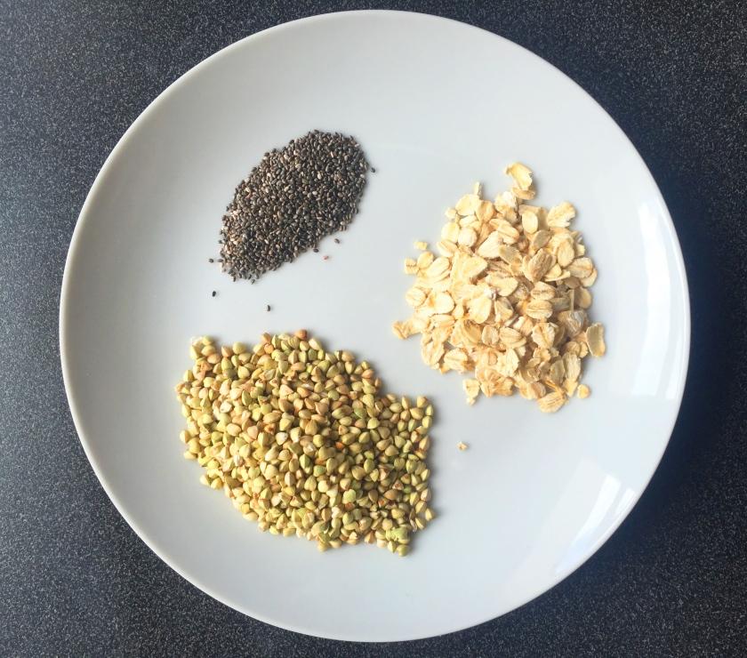 chia buckwheat oats