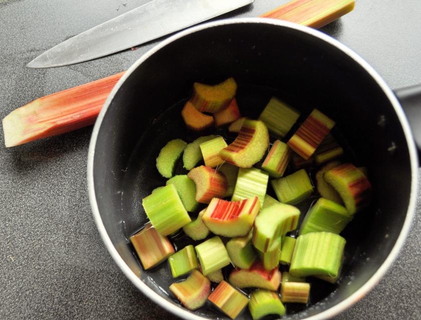 rhubarb saucepan